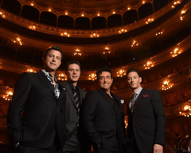 Il Divo brings their six-continent Timeless tour to the Pearl Thester st the Pslms Marc 15th