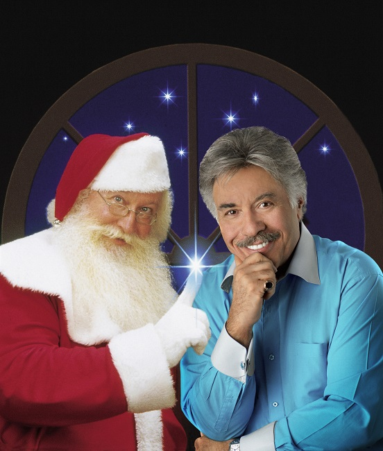 "Tony Orlando and ""Santa,"" Dave Thompson"