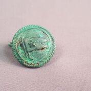 Button owed by Titanic's First Officer Murdoch