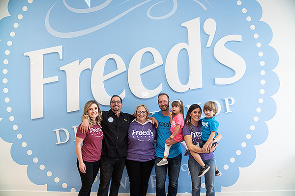Fried Family at Freeds Dessert Shop in Summerlin